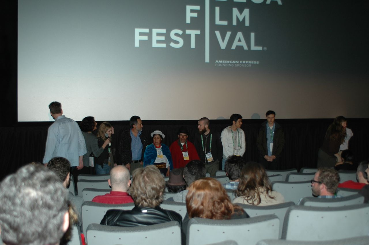 At the Q&A after the premiere