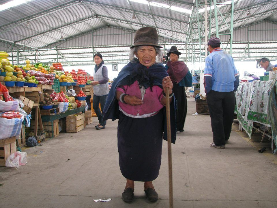 A woman poses for a picture